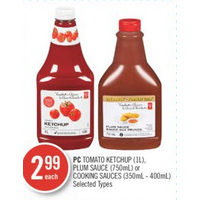 PC Tomatoes Ketchup, Plum Sauce Or Cooking Sauces
