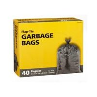 Simplicite Black Or Clear Garbage Bags