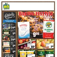 AG Foods - Weekly - Baking Festival Sale Flyer