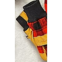 Windriver Plaid Leather Gloves