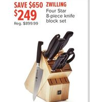 Zwilling Four Star 8-Piece Knife Block Set