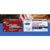 Exact Cough, Cold or Pain Relief Products