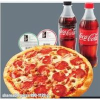 Shareable Pizza, Coca-Cola Beverage, From Our Chefs Dipping Sauces