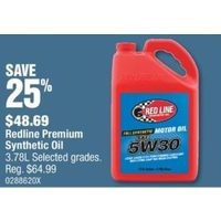 Redline Premium Synthetic Oil