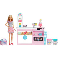 Cake Decorating Playset With Doll