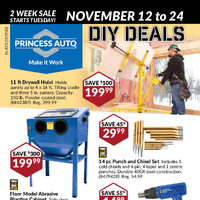 Princess Auto - 2 Week Sale - D.I.Y. Deals Flyer