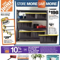 Home Depot - Weekly - Store More Save More Flyer