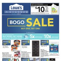 Lowe's - Weekly - BOGO Sale Flyer