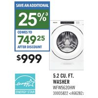 Whirlpool 5.2 Cu. Ft. Washer