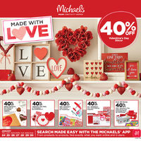 Michaels - Weekly - Made With Love Flyer