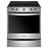 Whirlpool Smart Electric Front Control Range, 6.4 Cu. Ft.