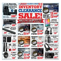 - Weekly - Inventory Clearance Sale! Flyer