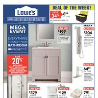 Lowe's - Weekly - Mega Event Flyer