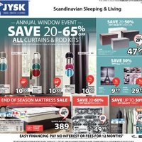 JYSK - Weekly - Annual Window Event Flyer