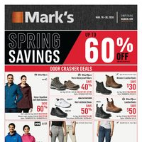 - Spring Savings Flyer