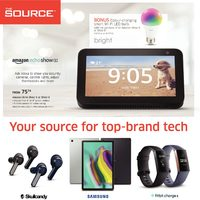 The Source - 2 Weeks of Savings - Your Source For Top-Brand Tech Flyer