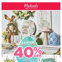 Michaels - Weekly - Easter Flyer