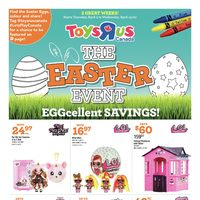 Toys R Us - The Easter Event - Eggcellent Savings! Flyer