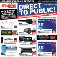 Visions Electronics - Weekly - Direct To Public! Flyer