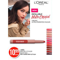 L'oOreal Infallible Lip Colour