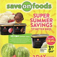 Save On Foods - Weekly Specials - Super Summer Savings Flyer