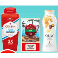 Old Spice Bar Soap, Olay or Old Spice Body Wash