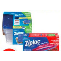 Ziploc Food Storage Bags or Containers