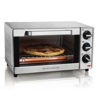 Hamilton Beach 4-Slice Stainless Steel Toaster Oven