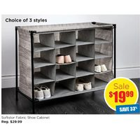 Softstor Fabric Shoe Cabinet