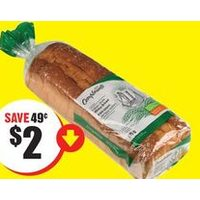 Compliments Italian Style White or Whole Bread