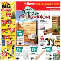 Home Hardware - Building Centre - Birthday Celebration Flyer