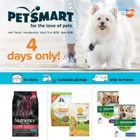 PetSmart - 4 Days Only! Flyer