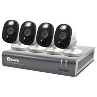 Swann Wired 4-CH 1TB DVR System With 4 Bullet 1080p Cameras