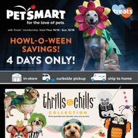- Howl-O-Ween Savings! Flyer