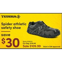 Terra Spider Athletic Safety Shoe
