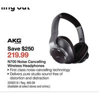 AKG N700 Noise Cancelling Wireless Headphones