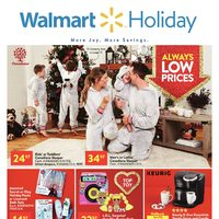 Walmart - Holiday Book - More Joy. More Savings. Flyer