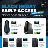 Dell - Black Friday Early Access Flyer