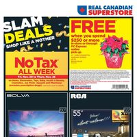 Real Canadian Superstore - No Tax All Week Flyer