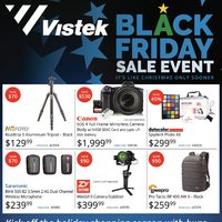 Vistek - Black Friday Sale Event Flyer