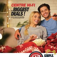 Centre HIFI - Our Biggest Deals! Flyer