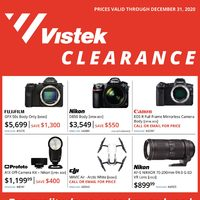 Vistek - December Clearance Sale Flyer