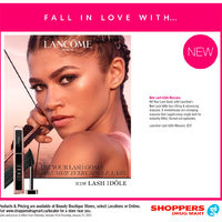 Shoppers Drug Mart - Beauty Boutique Locations Only - Fall In Love With... Flyer