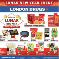 London Drugs - Lunar New Year Event Flyer