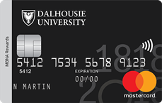 Dalhousie University MBNA Rewards Mastercard® credit card