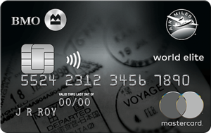BMO® AIR MILES®† World Elite®* MasterCard®*