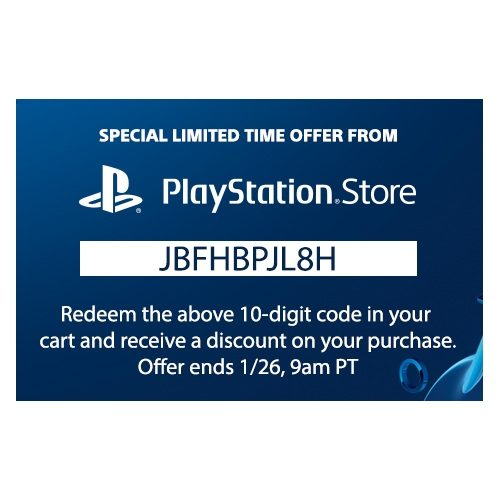 Sony Entertainment Network: PSN Members Get an One-Time 10