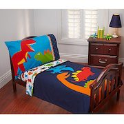 Carter's® Prehistoric Pals 4-piece Toddler Bedding Set - $26.99 ($43.00 Off)