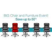 Staples Big Chair Event Up to 50% Off Office Chairs and Furniture  sc 1 st  RedFlagDeals.com & Staples Big Chair Event: Up to 50% Off Office Chairs and Furniture ...