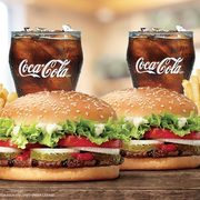 Burger King: Get Two Whopper Meals for $10!